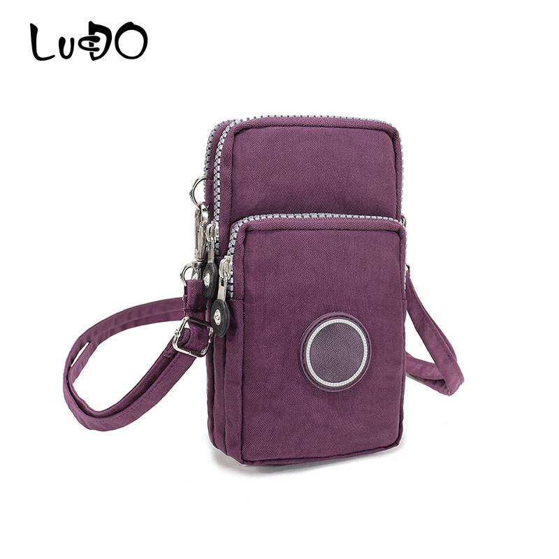 Fashion Mini Women Hangbag Canvas Messenger Bag Mobile Phone Coin Purse Wallet Clutch Pocket Travel Bag Feminina Bolsos Mujer