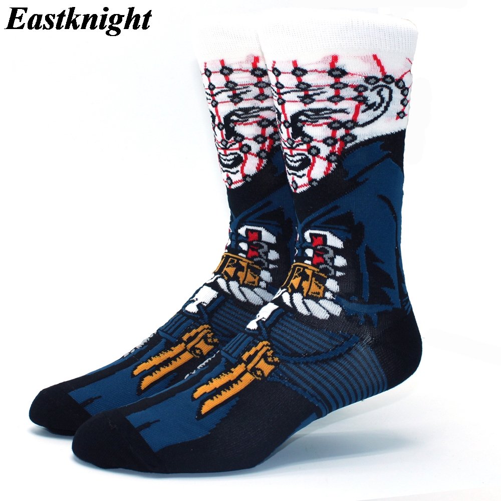 K1295 1 pair Hellraiser New Fashion Men Cotton Socks Famous Horror Movie Socks Unisex Funny Novelty Socks