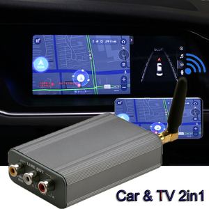 Image 3 - Car Navigation Wireless Wifi Mirroring Box Display Dongle Adapter for IPhone X XS MAX XR 11 7 8 Android Phone To HDMI AV TV Car