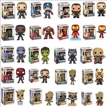 FUNKO POP Marvel Avengers Stan Lee Iron Man Captain America Collection Model PVC Action Figure Kids Toys Children Gifts цена 2017