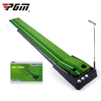 PGM Portable Golf Putter Trainer With Back Track Simulation Golf Putting Indoor Practice Track Golf Training Aids For Beginner