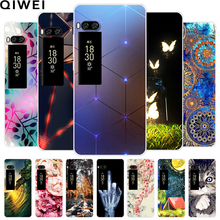 For Meizu Pro 7 Case Fashion Slim Clear Soft TPU Back Cover