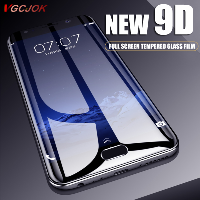 New 9D Protective Glass For Meizu M6 M5 Note M3 Mini Pro 6 6s Tempered Screen Protector For M3E M5s M5c M6s M6T Full Cover Glass