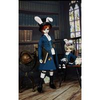 [wamami] The Rabbit Master Of The Bafro Family For BJD Doll Dollfie Outfit Uniform