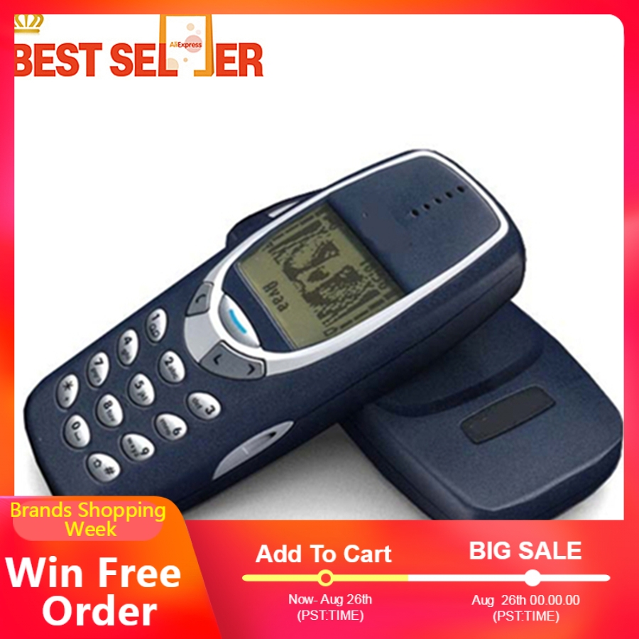Nokia 3310 Original Mobile-Phone GSM Refurbished Cellphonecheap-Phone Keyboard Arabic