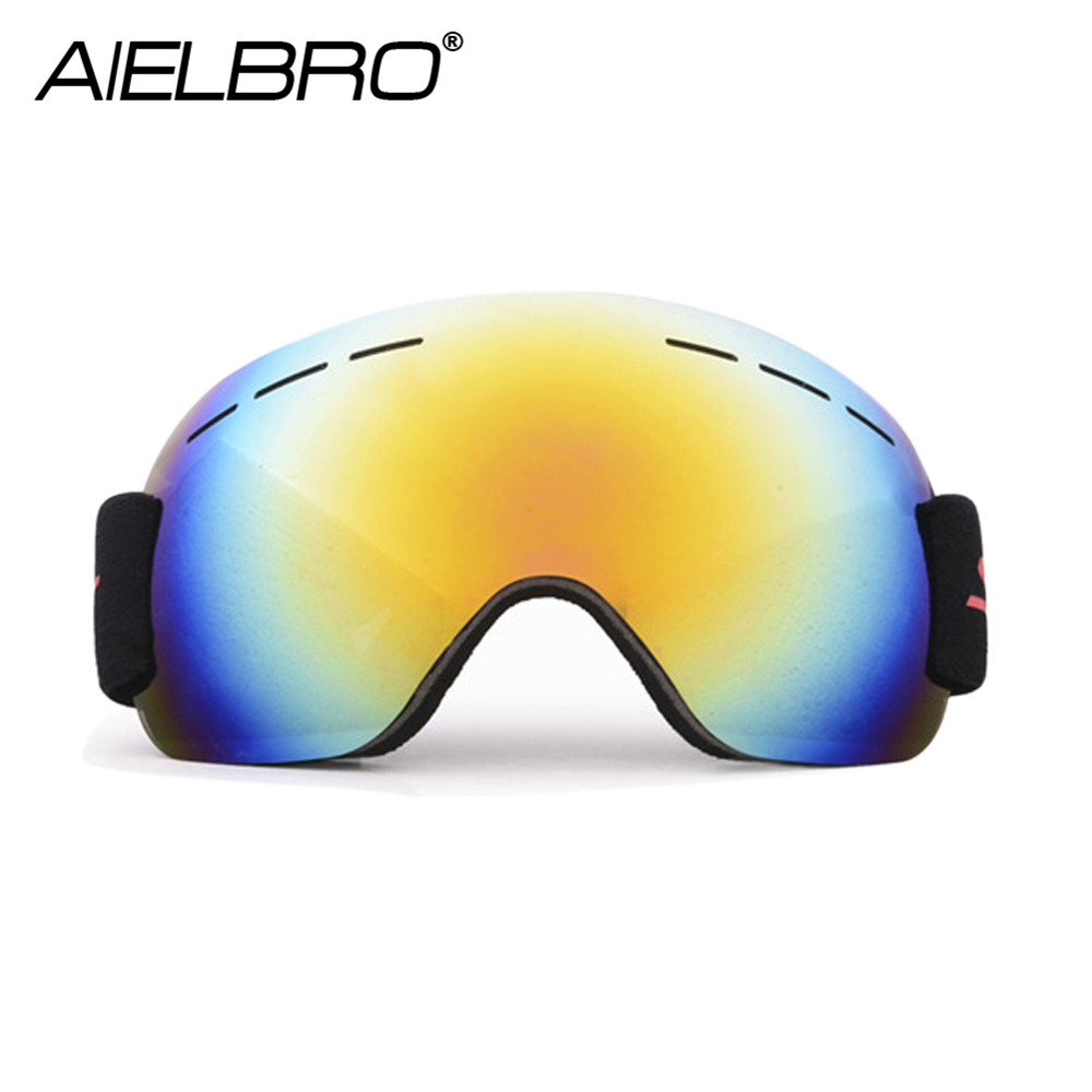 Ski Goggles Men Women UV400 Anti-fog Skiing Snowmobile Snowboard Snow Skating Mask Ski Glasses 2019 New Hot