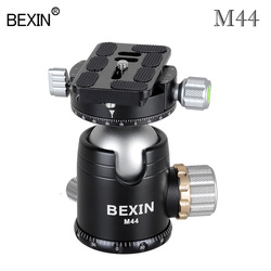 M44 Tripod head panoramic shooting head video camera stand ballhead 360 rotating photo built ball head for point dslr camera