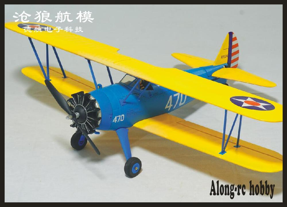 NEW EPO   RC Plane RC  HOBBY  Wingspan 1200mm PT-17  STEARMAN  Airplane PT17 V2 RC MODEL  PLANE  (have  Kit Set Or PNP Set )