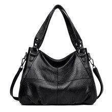 Womens Genuine Leather Handbag Large Leather Designer Big Tote Bags for Women 2019 Luxury Shoulder Bag Famous Brand Handbags