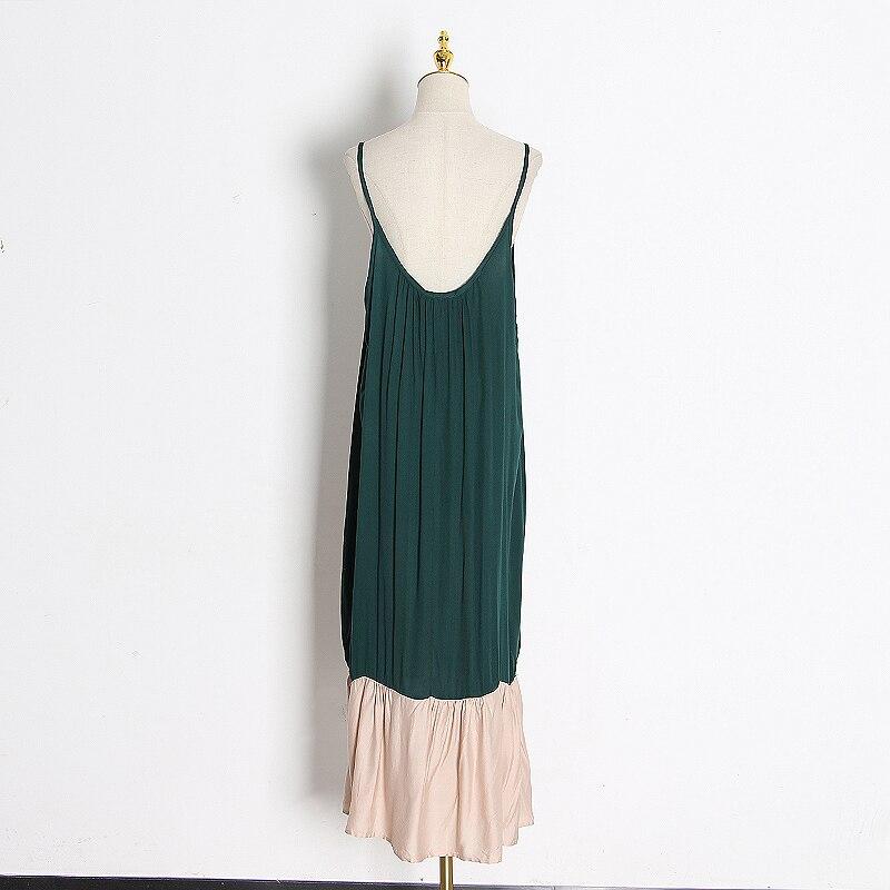 TWOTWINSTYLE популярное цветное женское платье с капюшоном и длинным рукавом, свободные Асимметричные лоскутные платья для женщин, модная одежда...