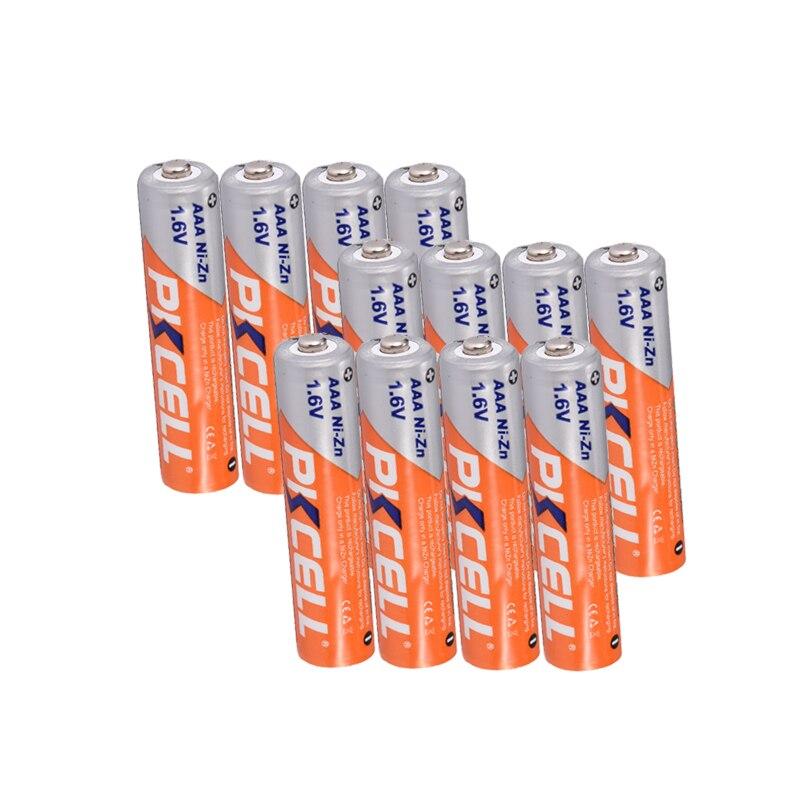 Аккумуляторная батарея PKCELL AAA nizn, 12 шт., ni zn aaa, 900mWh, батарея 1,6 в для цифровой камеры, Радиоуправляемая машинка, вспышка, электрические игрушки battery 3a rechargeable batterybattery a   АлиЭкспресс