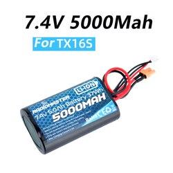 Радиомастер 2S 7,4 V 5000mah 37wh радиомастер TX16S пульт дистанционного управления Передатчик JST-XH и XT30 разъем большая выносливость Lipo батарея