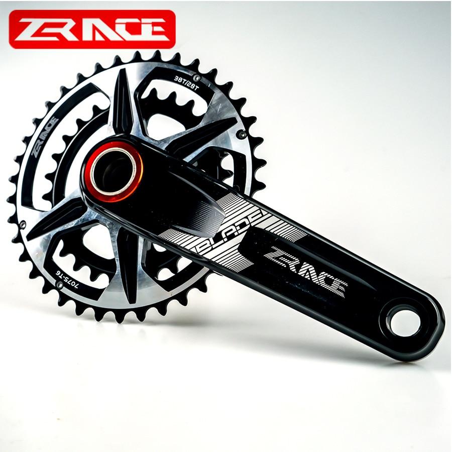 ZRACE BLADE 10S 11S 12 Speed Crankset Eagle Tooth MTB Crank 170//175 BB