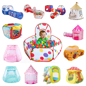 36 Styles Foldable Children's Toys Tent For Ocean Balls Kids Play Ball Pool Outdoor Game Large Tent for Kids Children Ball Pit 3 in 1 kids large pool tube teepee play tent ocean ball pool pit tent house for children foldable game playing house room gift