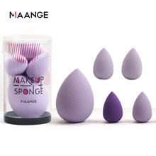 Foundation-Cream Puff Cosmetic-Powder Sponge-Face Makeup Mini Soft 5pcs New Concealer