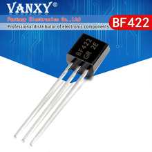 100PCS BF422 OM 92 422 TO92 nieuwe triode transistor