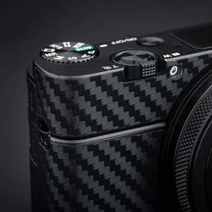 Image 3 - Anti Scratch Camera Body Skin Carbon Fiber Film Sticker Kit For Sony RX100 Mark VII VI RX100M6 RX100M7 For Cameras Decoration