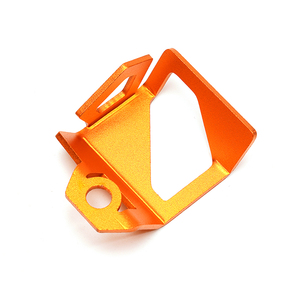 Image 5 - New Motorcycle Orange Rear Fluid Reservoir Cover Guard Cap For KTM DUKE 790 1290 Adventure 790 1190 1290 Super