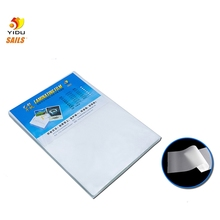 A4 40mic/1.6mil Laminating Film Laminator Pouch/Sheets Great Protection for Photo Paper Files Card Picture 100pcs/set Laminate T