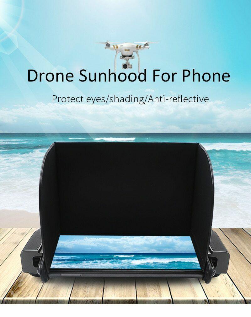 Drone-Controller Sun-Hood DJI STARTRC for Mavic Mini SE X8 FIMI Sunshade/4.7-5.5inch