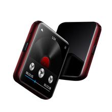 Nowy klip MP3 odtwarzacz Bluetooth z 1 5 #8222 ekran dotykowy MP3 odtwarzacz muzyczny przenośny HiFi metalowy odtwarzacz audio z FM dla do biegania tanie tanio FORNORM 2 quot 220x176 2 8 cm x 2 8 cm E-czytanie książki Other mini MP4 player