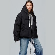 oversize Warm winter down jacket fashion oterwear thin