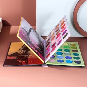 Image 2 - Bellezza Satinato ombretto Tavolozze colorato Ombretto Tavolozze Glitter Evidenziatore Shimmer Make up pigmento matte Ombretto Pallete