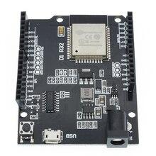 10 pçs esp32 para wemos d1 mini para arduino uno r3 d1 r32 wi fi placa de desenvolvimento sem fio bluetooth ch340 4m memória um