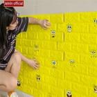 Yellow cartoon chara...
