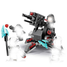 75197 132pcs Star Series Wars The First Order Specialists Pack Building Blocks Brick Toys For Children 10895 Gitt