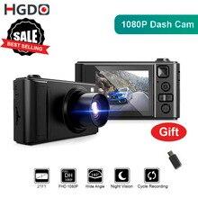 "HGDO 2 ""جهاز تسجيل فيديو رقمي للسيارات اندفاعة صغيرة كام كامل HD كاميرا سيارة كاميرا 1080P Dvrs للرؤية الليلية مسجل فيديو Autoregister داشكام"