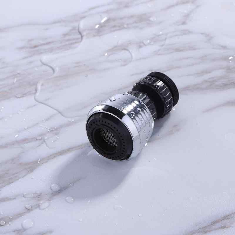 360 ユニバーサルロータリーエアレーター水バブラー旋回ヘッドキッチンフィルター蛇口ノズルシャワーヘッドタップ浴室