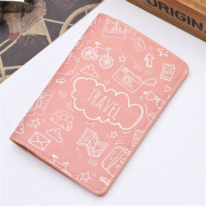 Zoukane Card-Case Document Passport-Cover Travel Credit Women CH02