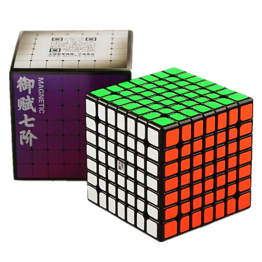 YongJun YuFu 69MM V2 M Magnetic 7x7x7 Cube Professional Education Gift Speed Puzzle Magic Cubes Children's Brain Learning Toys