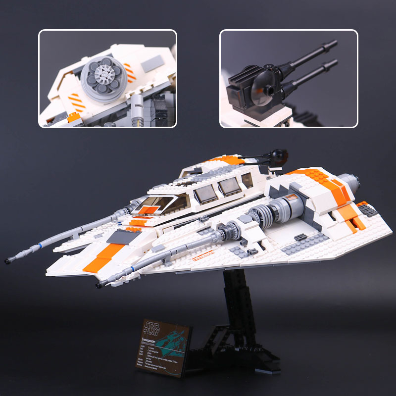 DHL 05084 Star Series Wars The 10129 Snowspeeder Set Building Blocks Bricks Educational Kids Christmas Toys Assembly Model Gifts-in Blocks from Toys & Hobbies    1