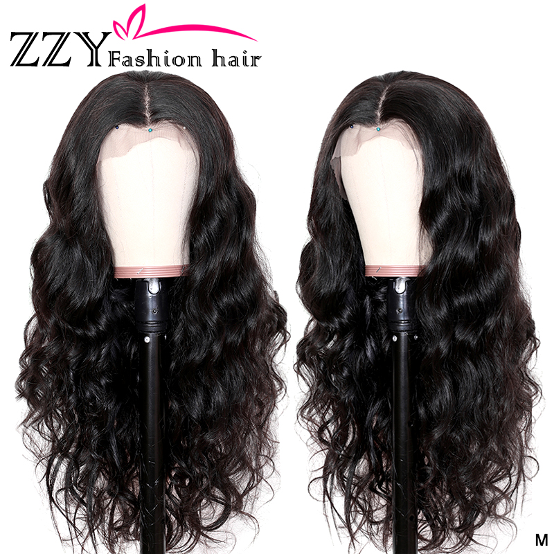 ZZY Fashion Lace Front Human Hair Wigs 13x4 Brazilian Body Wave Wig Lace Frontal Wig 150% Density Lace Front Wig Non-remy