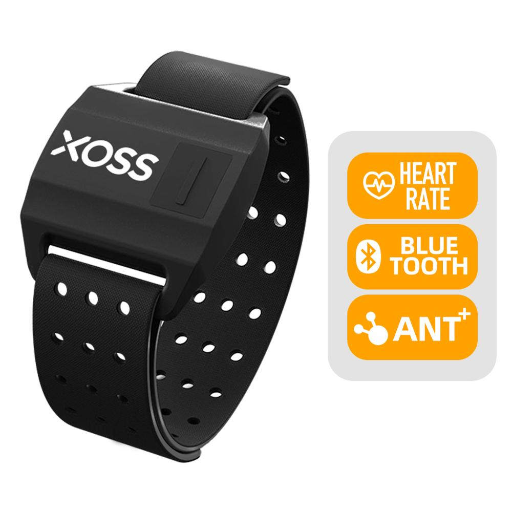 XOSS Heart Rate Sensor Armband Bracelet Bluetooth 4.0 & ANT+ Wireless Health Accessories Smart Band Heart Rate Tracker Fitness