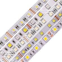 5050 RGB LED Strip 60LEDs/m RGBW RGBWW RGB CCT White Warm White 5 in 1 RGBCCT