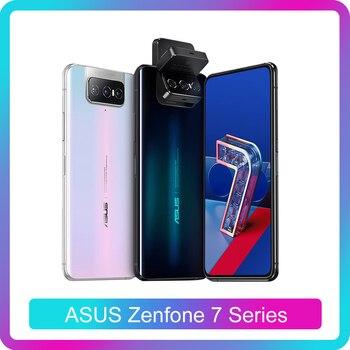 Перейти на Алиэкспресс и купить Смартфон ASUS Zenfone 7 Pro 8 ГБ ОЗУ 256 Гб ПЗУ Snapdragon 865/865Plus 5000 мАч NFC Android Q 90 Гц 5G