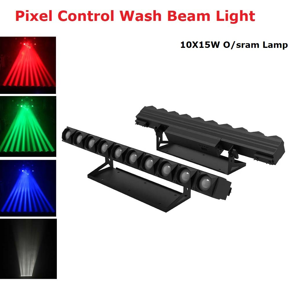 10X15W LED Beam Light RGBW 4IN1 LED Wall Wash Light Pixel Control DMX512 LED Bar Wash Stage Light Music Dj Disco Party Wedding|Stage Lighting Effect| |  - title=