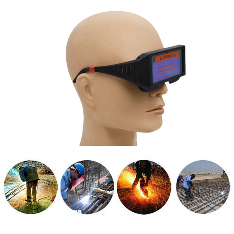 Solar Auto Darkening Welding Helmet Welder Cap Goggles Eyes Protector Machine Cutter Soldering Mask Filter Lens Tools|Safety Goggles| |  - title=