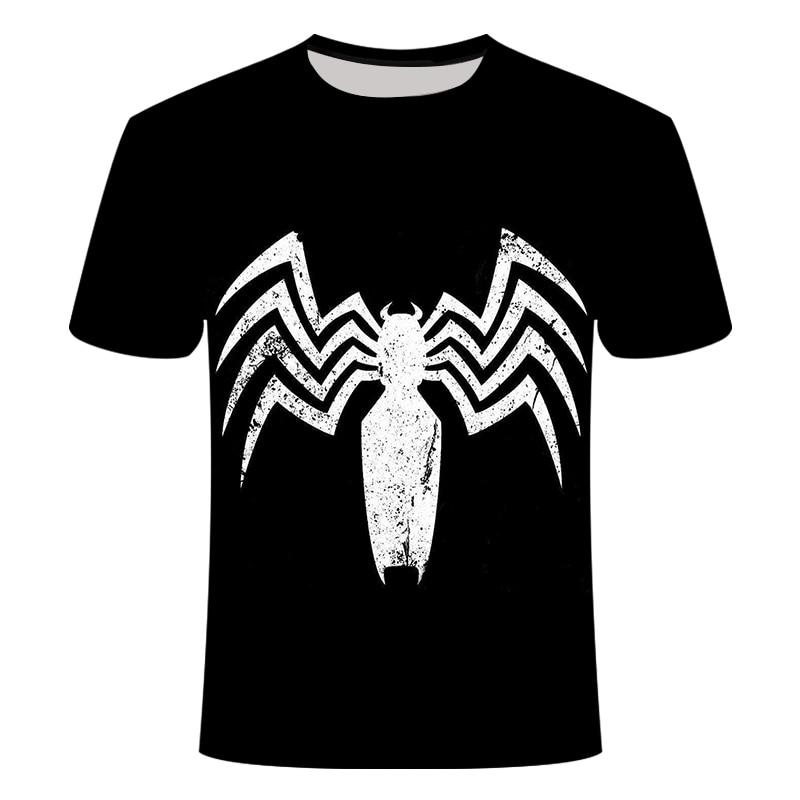 "Новинка, Мужская Футболка Venom, футболка ""Марвел"", 3D принт, футболка s, мужская, женская, Повседневная футболка, футболка для фитнеса, футболки, топы - Цвет: TX-134"
