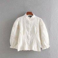 Белая блуза с кружевными вставками Цена 1006 руб. ($12.59) | 365 заказов Посмотреть