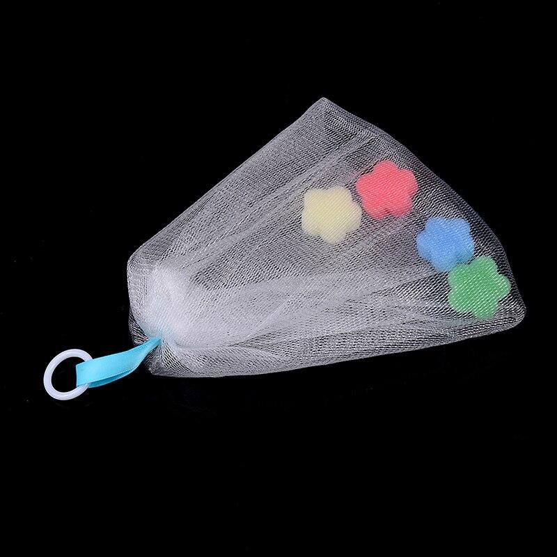 1 шт. Мыло пена сетка пузырь помощник сетка очищающее средство ванна стирка ванная аксессуары лицо тело очищение
