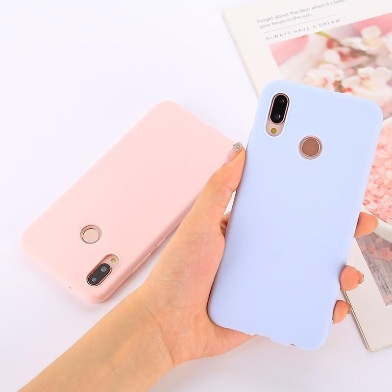 Candy Color Soft Case Cover For Xiaomi Redmi Note 4 4X 5 6 7 8 8T K30 K20 Pro 4A 4X 5A 5 Plus 6 6A 7 7A 8 8A GO S2 Coque Funda
