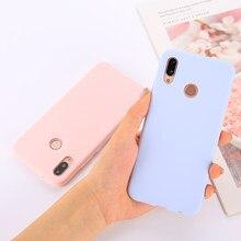 Candy Farbe Weichen Fall Abdeckung für Xiaomi Redmi Hinweis 4 4X 5 6 7 8 8T K30 K20 Pro 4A 4X 5A 5 Plus 6 6A 7 7A 8 8A GEHEN S2 Coque Funda