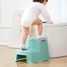 2 Step Stool for Kids Toddler Stool for Toilet Potty Training   Slip Resistant Soft Grip for Safety As Bathroom Potty Stool