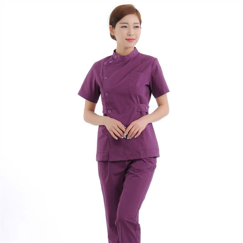 Love Heart Brand Medical Scrub Sets Hospital Uniforms Doctors Suits Surgical Clothes Uniform Fashion Lab Coat
