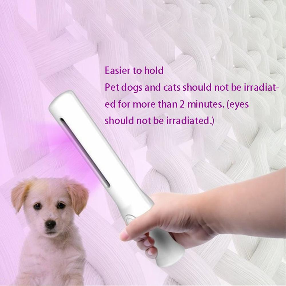 Handheld Sterilization Lamp Disinfection Stick Universal Uv Sterilizer For Pacifiers Portable Handheld Pet Dog Supplies