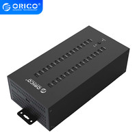 ORICO 30 포트 USB 허브 산업용 USB2.0 허브  300W 분리 전원 모듈 (IH30P)